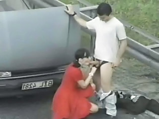 Public Sex With Prostitute On Road
