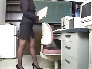 Secretary Office Asian Milf Asian Milf Office Milf Stockings