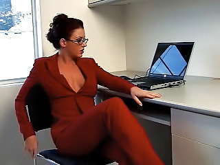 Secretary Amazing Glasses Milf Ass Milf Office Office Milf