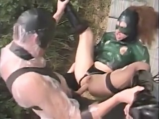 Fantasy Fetish Hardcore Latex  Big Tits Handjob