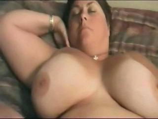 Really busty BBW brunette is getting her fat pussy stuffed and cheating on hubby
