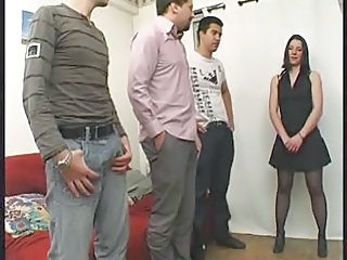 French Gangbang Stockings European French French Milf