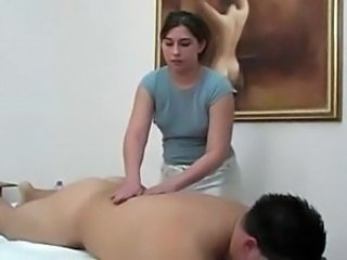 Massage Chubby Ass Handjob Cock