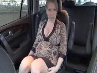pregnant blonde teacher