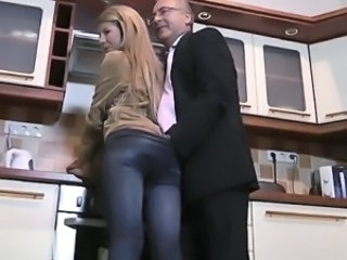 Daddy Kitchen Old And Young Blowjob Teen Bus + Teen Dad Teen