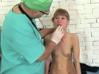 Doctor Old And Young Skinny Blonde Teen Dad Teen Daddy