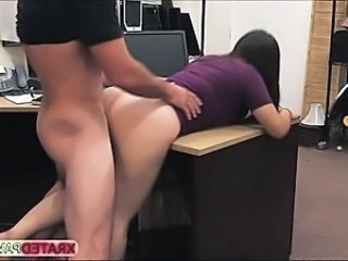 Two bitches gets punished by shop owner