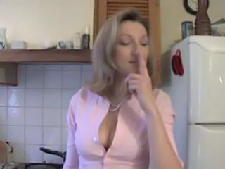 French European Kitchen  European French French Milf Plumber