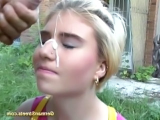 Cumshot Facial European Cumshot Teen European German