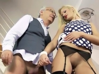 Daddy Amazing Blonde Blonde Teen British British Fuck