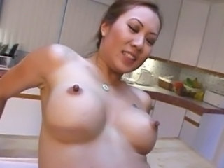 Asian Secretary Sinnye Lang Wants The Bosses Cock free