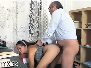Daddy Teacher Old And Young Doggystyle Student Teen Dad Teen Daddy Doggy Teen Old And Young Teacher Student Teacher Teen Teen Daddy