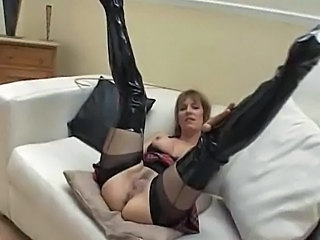Latex Mature Mom Mature Pussy