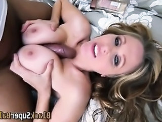 Milf gets black cock cum
