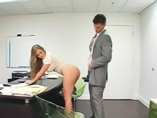Secretary Clothed Ass Clothed Fuck Doggy Ass Doggy Busty