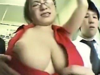 Asian Big Tits Glasses Abuse Asian Big Tits Ass Big Tits