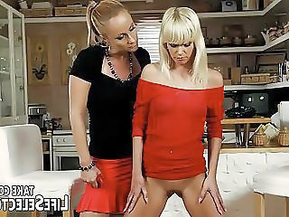 Cute Babysitter Owned By Mature Domina Mother
