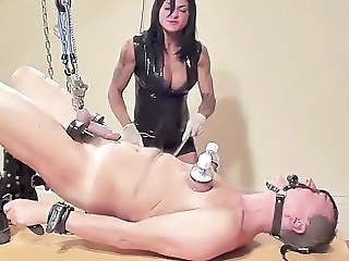 Femdom Fetish Slave Whip Caught Mom