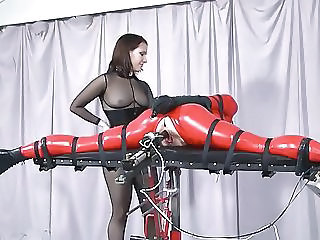 Bondage Machine Fetish Latex Bdsm