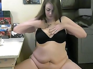 Doughbelly Bbw Devours Milk And Cookies
