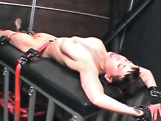 Big Titted Sex Slave Gets Chained And Tortured Hardcore