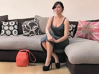 Cute British Amateur Babe Fucks On Casting