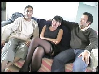 Martine, French Mature In Foursome