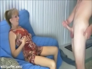 Naughty Mature Lady Gets A Cumblast free