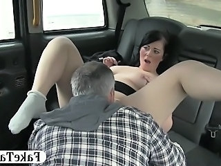 Car Daddy Licking Big Tits Car Tits Daddy
