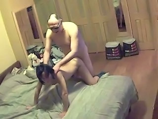 Real hidden cam caught cheating wife