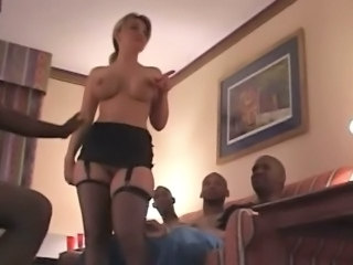 Cuckold wife and black stallions