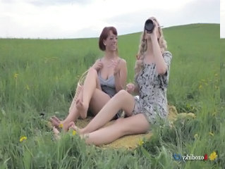 Farm Lesbian Outdoor Crazy Czech Farm