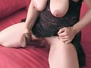 Saggy Tits and Nice Clit BVR