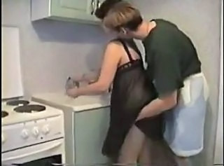 Young + old kitchen sex