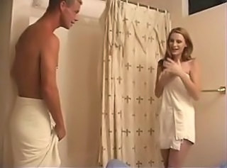 Gorgeous Redhead After Shower Fuck