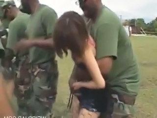 Army Forced Gangbang Hardcore Outdoor Forced Outdoor