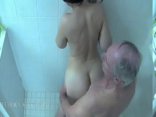 Daddy Old And Young Doggystyle Showers Daddy Old And Young Ebony Babe Nurse Young