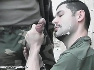 Nasty soldier gay is forced to fuck part2