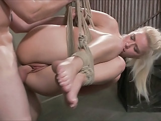 hot blond tied and fucked 1 of 2