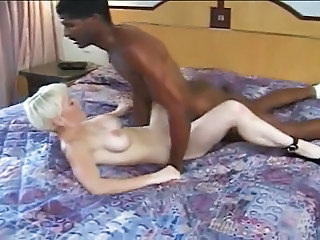 perfect bodied MILF fucks big black cock