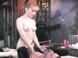 Sexy hot body slut bondage a men spank part3