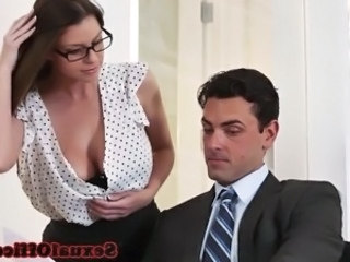Cute Glasses Office Ass Big Tits Babe Ass Babe Big Tits