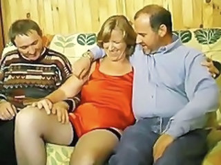 Hot French amateur threesome