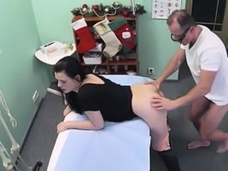 Babe Doctor HiddenCam Office Babe