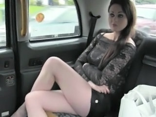 Skanky amateur passenger anal pounded for a free taxi fare
