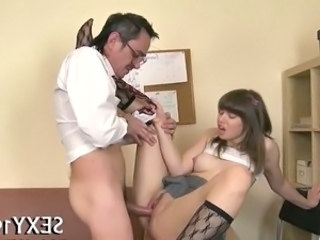 Daddy Old And Young Student Blowjob Teen Dad Teen Daddy
