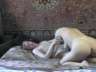 """Hot Russian Auntie With Young Guy"""" class=""""th-mov"""
