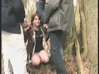 "Lea, French Milf, Gangbanged In A Public Forest"" class=""th-mov"