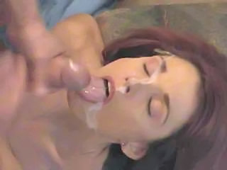 """Nice Busty Wife Sucking A Huge Cock And Getting Facial Cumshot On Her Cute Face"""" class=""""th-mov"""