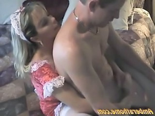 Big Titty MILF Hot Home Handjob